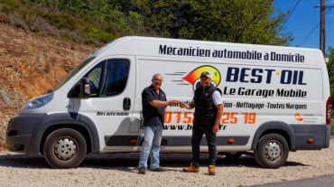 Session de photos d'une livraison de Camion Best'Oil