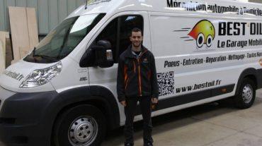 Bonjour et bienvenue à Jordan, nouveau garage mobile BEST'OIL