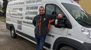 Bonjour et bienvenue à Richard,  nouveau garage mobile BEST'OIL