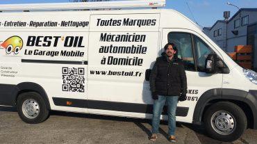 Bonjour et bienvenue à Bruno,  nouveau garage mobile BEST'OIL