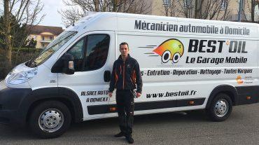 Bonjour et bienvenue à Raphaël, nouveau garage mobile BEST'OIL